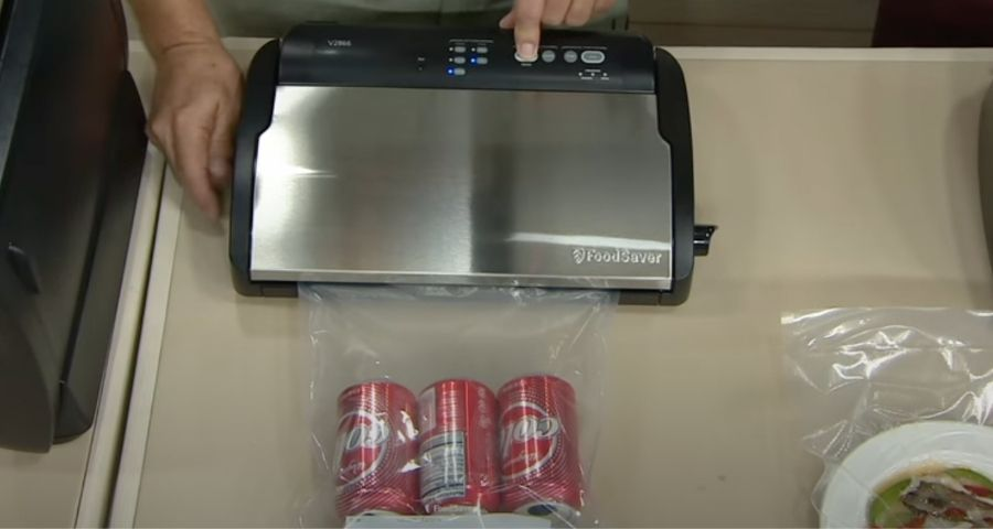 cryovac food storage for camping