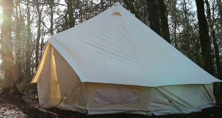 Canvas tent material