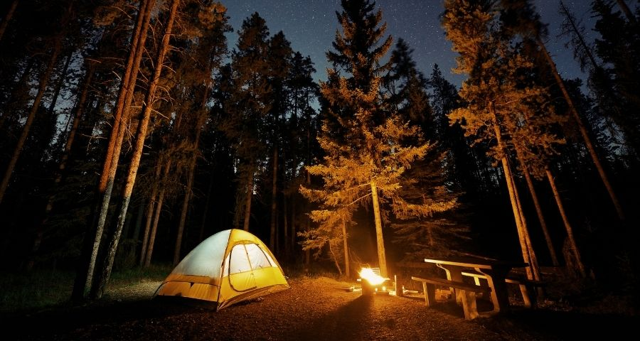 how to keep your tent warm during winter camping