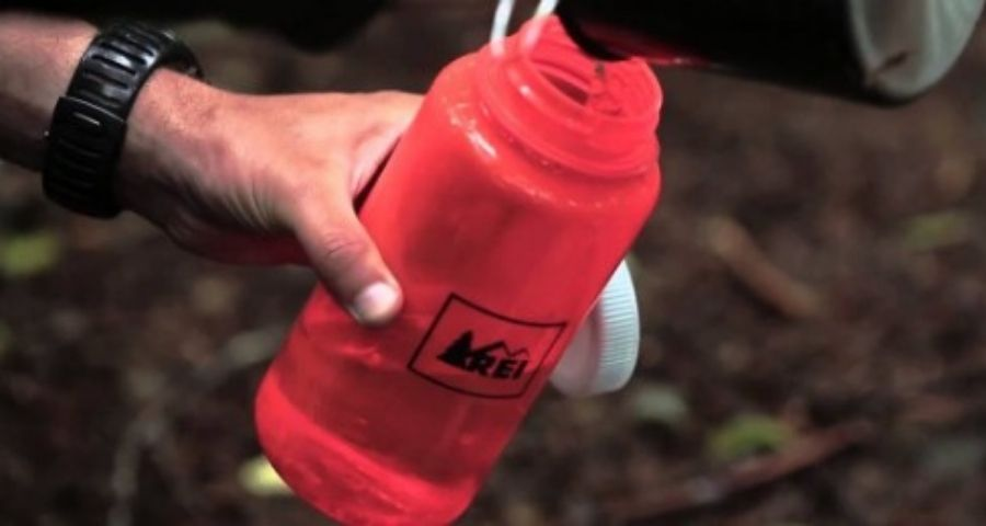 Nalgene bottles can keep your water from freezing during winter camping