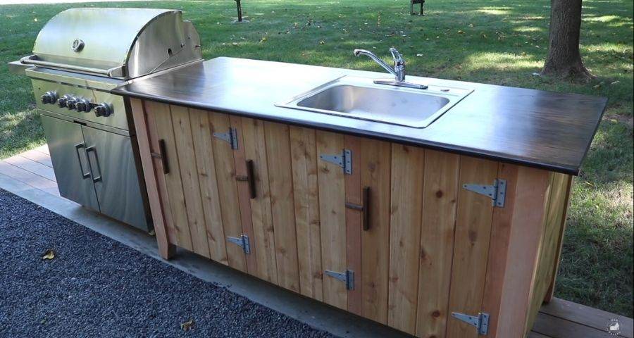 How do you get rid of grey water when camping